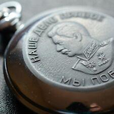 Mechanical Pocket Watch MOLNIJA 18 Jewels STALIN - Great Patriotic War 1941-1945