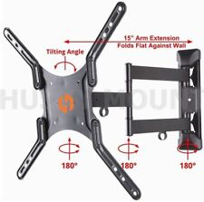 Full Motion Tilt Swivel Bracket LED LCD Smart Plasma Tv Wall Mount 32 40 50 55""