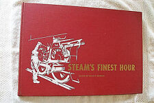 STEAM'S FINEST HOUR 1959  Edited By David P Morgan