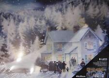 Leuchtbild mit Fotoprint auf Canvas  Motiv: Stillleben Landschaft III  6 LEDs