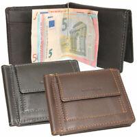 Leder Dollarclip Geldspange Geldklammer Geldbörse Geldbeutel Minibörse Herren