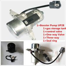 1- Way Electric Vacuum Pump Power Brake Booster Gas Storage Tank Control Valves