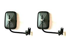 2x Außenspiegel Rückspiegel ø10 Traktor Bagger 175x125 Spiegelarm Spiegelhalter