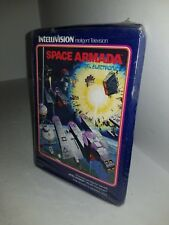 NEW SEALED W/CRUSHED BOX STORYBOOK GATEFOLD SPACE ARMADA FOR INTELLIVISION A1