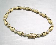 brillant-liebes-armband 1,00ct Oro Amarillo 750 NUEVO DIAMANTES (40651) UNIKAT