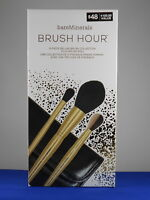 bareMinerals BRUSH HOUR 3 Piece Deluxe Brush Collection Plus Roll Set