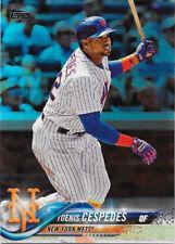 2018 Topps Series 1 Rainbow FOIL Parallel #125 Yoenis Cespedes - Mets