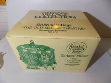Dept 56 Dickens Village - The Old Globe Theater - #58501