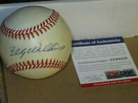 Billy Williams autographed Baseball PSA Certified