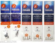 Leaders - Hook Line & Threader - 5 sizes or Bundle and Save - No Tool Included
