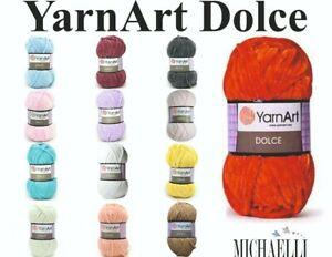 YarnArt Dolce, Chenille Wolle für Amigurumi