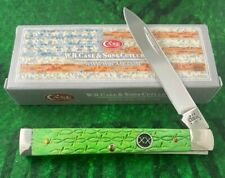 case xx BARBED WIRE DOCTORS knife 2004 good snap black XX shield discontinued