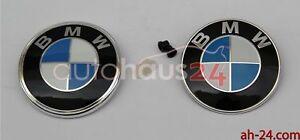 NEW ORIGINAL BMW EMBLEM LOGO BADGE HOOD & TRUNK LID E30  1985 -1994 325i 318i