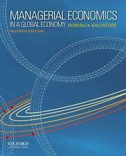 MANAGERIAL ECONOMICS 7E Int'L Edition