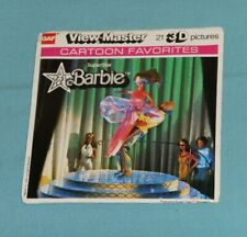 vintage SUPERSTAR BARBIE VIEW-MASTER REELS packet (missing booklet)