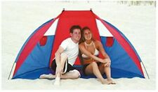 Wet Products Sun and Wind Protection Portable Beach Cabana with Window Vents NEW