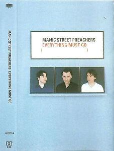 MANIC STREET PREACHERS EVERYTHING MUST GO CASSETTE HOLLAND Alternative Rock '96