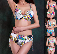 New Women Ladies Swimwear Two Piece Bikini Set AU Size 12 14 16 18 20 22 #1241