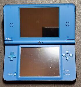 Nintendo DSi XL Blue - broken for parts or repair