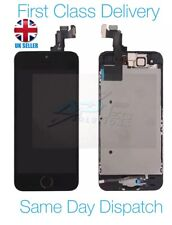 iPhone 5s iPhone SE Black LCD Touch Screen with Home Button, Speaker and Camera