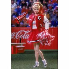 BARBIE DA COLLEZIONE Coca-Cola® Barbie® Doll (Cheerleader)  MATTEL NUOVA 28376