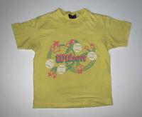 Vintage 80s Wilson Tennis T-Shirt Size Women's Medium Yellow
