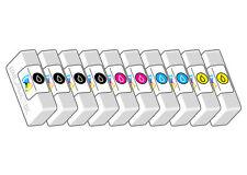 10 CARTUCCE COMPATIBILI CANON PIXMA IP4850 IP4950 IX6550 PGI-525 CLI-526