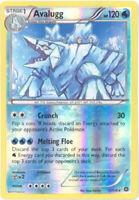 Pokemon Card - XY Steam Siege 37/114 - AVALUGG (reverse holo-foil) - NM/Mint
