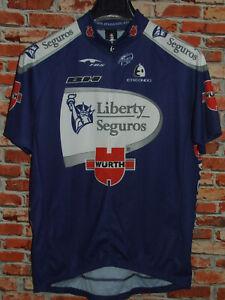 Bike Cycling Jersey Shirt Maillot Team Liberty Seguros ETXE ONDO Size XXL