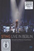 "STING ""LIVE IN BERLIN"" BLU RAY NEU"