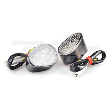 SET PAR INDICADORES INTERMITENTES LED ADHESIVO CARENADO YAMAHA YZF-R6 2007 >