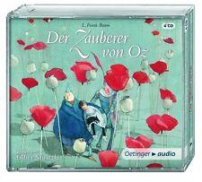L.FRANK BAUM - DER ZAUBERER VON OZ 4 CD NEU