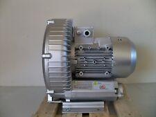 """REGENERATIVE BLOWER  3.4 HP  185 CFM  92"""" H2O Max press"""