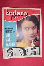 rivista fotoromanzo - BOLERO - Anno 1959 Numero 675 ANNA MARIA GUARNIERI