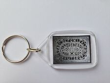 Ouija Board Keyring Gothic Pagan Witch Ghost halloween Seance gift EVP