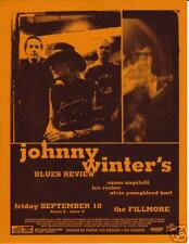 JOHNNY WINTER BLUES REVIEW ALVIN YOUNGBLOOD HART LEE ROCKER FILLMORE POSTER