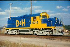Delaware & Hudson (D&H) #5015 @ Colonie Shops / Fresh Paint Color Print
