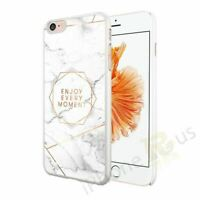 Marble Enjoy Every Moment Phone Case Cover For Apple Samsung Huawei Google Etc