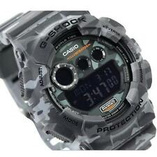 CASIO G-SHOCK GD120CM-8 GD-120CM-8, GRAY WOODLAND CAMOUFLAGE CAMO, LIMITED MODEL