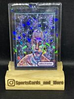 LEBRON JAMES CUSTOM MADE 2021  HOT CARD LeBald James! Cracked Ice NBA Lakers