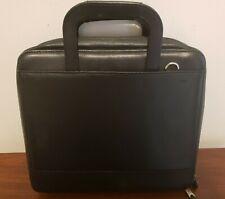 Franklin Covey Planner Portfolio Full Grain Leather 7 Ring Binder 13 X 11