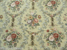 Sanderson Curtain Fabric CHATSWORTH 2.25m Classic Floral 100% Cotton 225cm