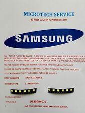 SAMSUNG UE40EH6030 D1GE-LED-60EA-L e R tipo 12 pezzi Kit di riparazione LED leggere aggiungere