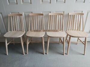 BRAND New SOLID BEECH Modern Retro Atom Scandinavian kitchen dining Chair