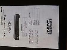 Service Manual Onkyo T-401
