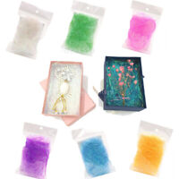 8g/bag Iridescent Shredded Metallic Tinsel DIY Gifts Boxes Basket Filling Filler
