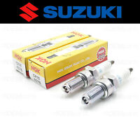 Set of (2) NGK CR7E Spark Plug Suzuki Scooter (See Fitment Chart) #09482-00515