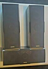 New listing Onkyo Speaker Set Skf540 Right - Skc540 Center - Skf540 Left (Black)