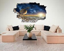 Weltall Space Weltraum All Planet Wandtattoo XXL Wandsticker Aufkleber C215