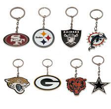 Official NFL - Metal Crest KEYRING (American Football) Gift/Fan/Xmas